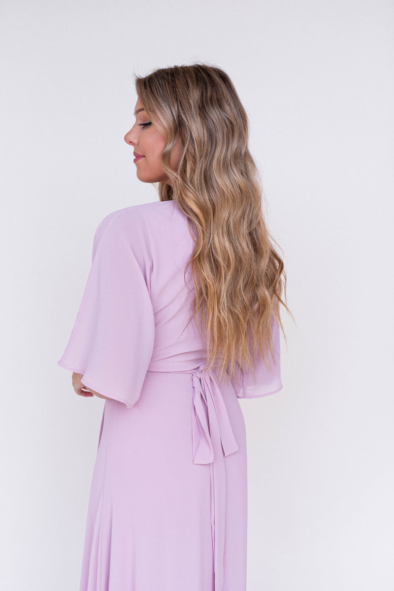 Dusty Rose Maxi Dress - LLACIE