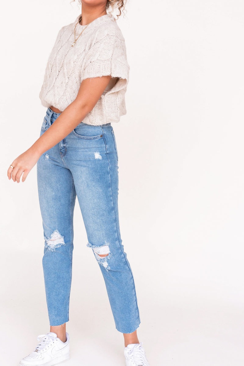 Stan High Rise Jeans - LLACIE