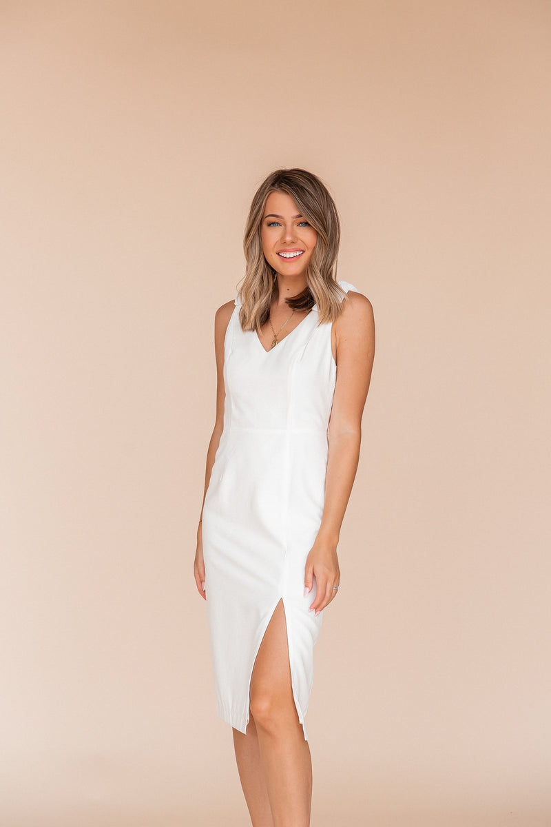 The Love Side Slit Dress | LLACIE