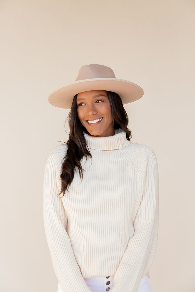Ashton Ribbed Pearl Sweater | LLACIE