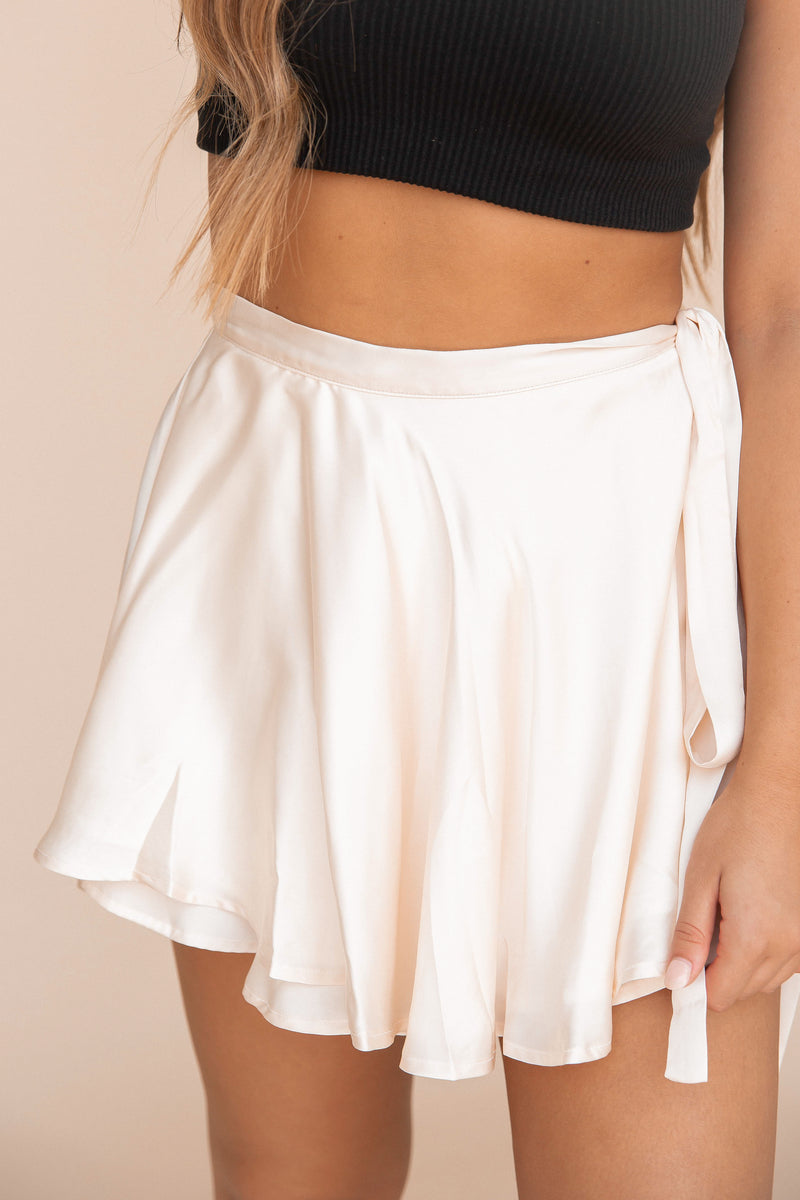 Cali Silky Wrap Skirt