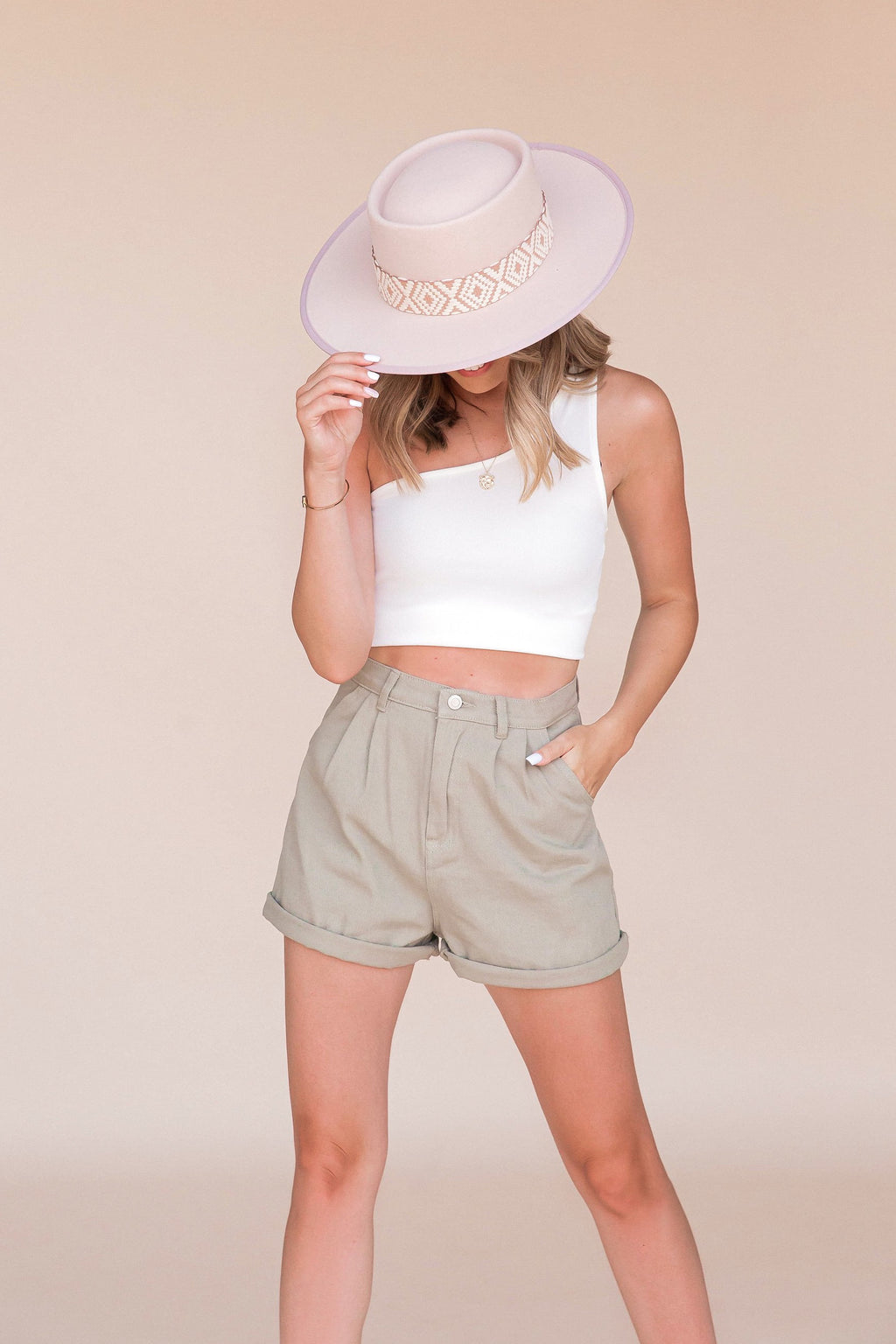 Road Trip Olive Shorts- FINAL SALE | LLACIE