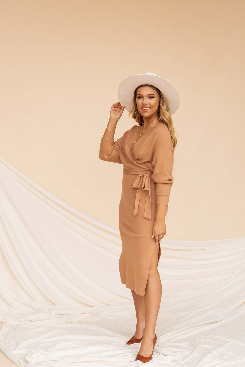 Itsy Dress | Caramel