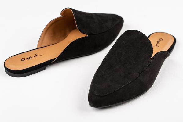 Slip On Pointy Toe Mules