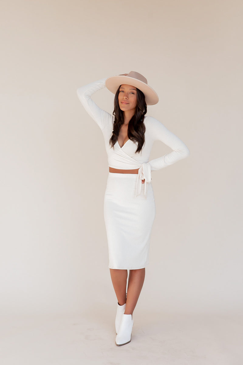 Vicinity Top and Skirt Set | LLACIE