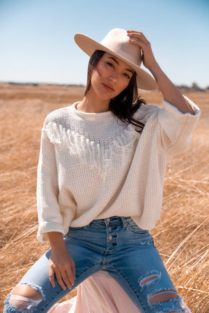 Aspen Tassel Sweater
