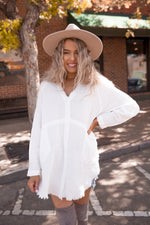 Brooklyn Ivory Button Down Top