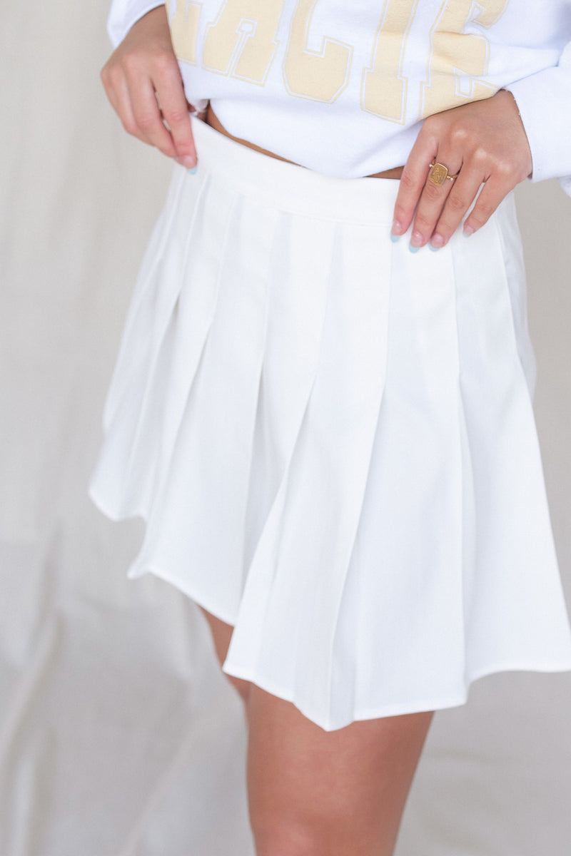 Tanna Pleated Tennis Skirt - LLACIE