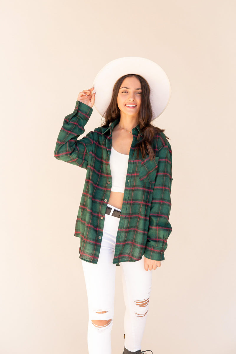 Nick Plaid Shirt