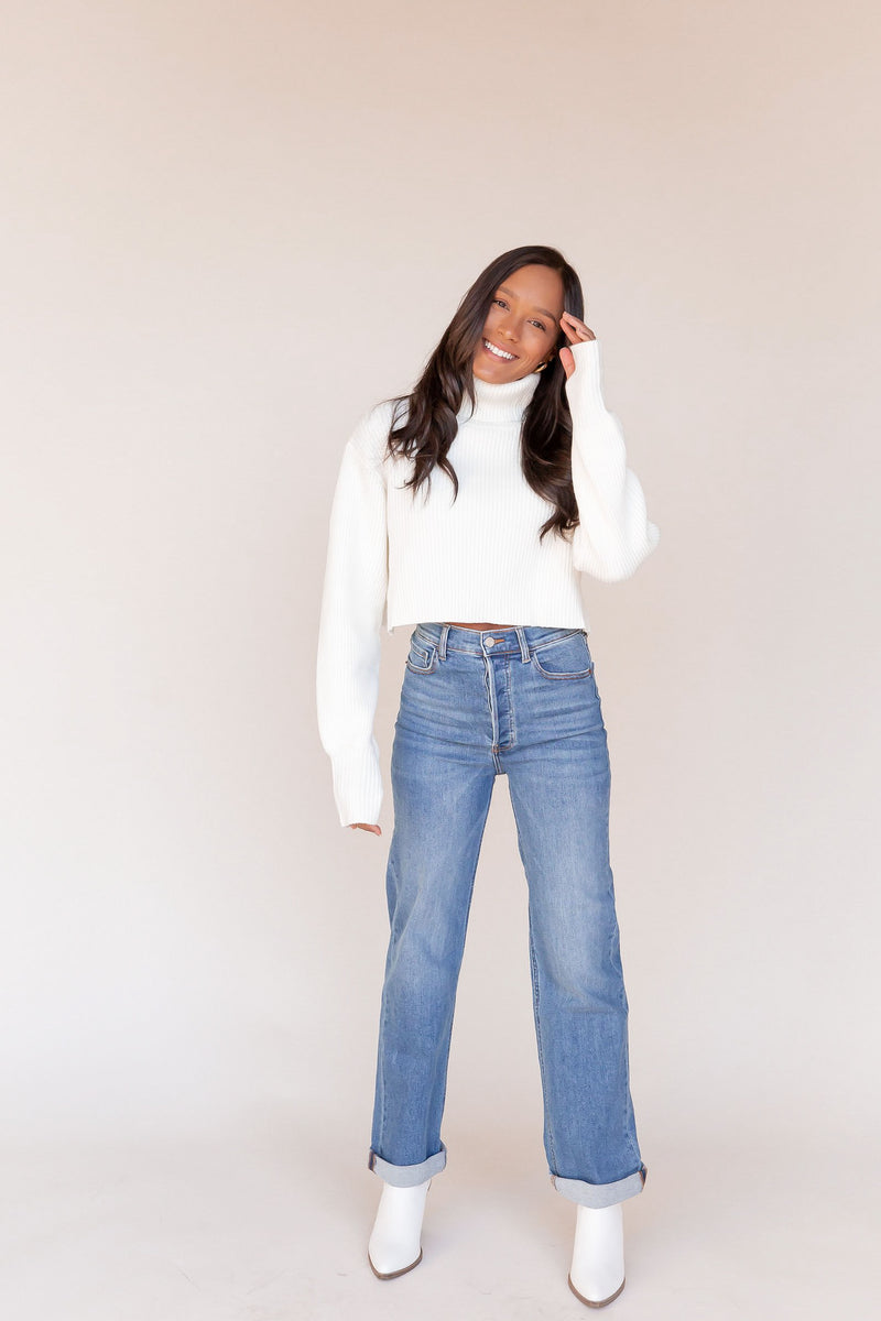 Sam High Rise Dad Jeans | LLACIE