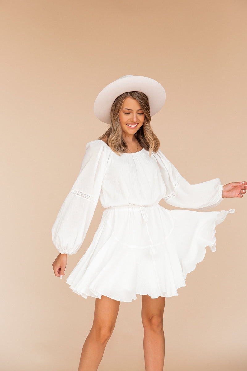 Elora Crinkle Gauze Dress | LLACIE