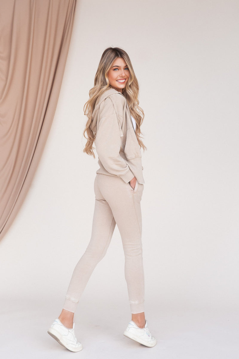 Morning Stroll Skinny Fleece Jacket - LLACIE