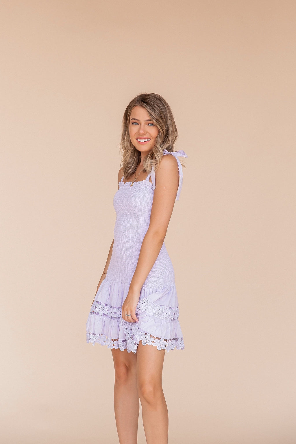 Luanne Lavender Dress- FINAL SALE | LLACIE