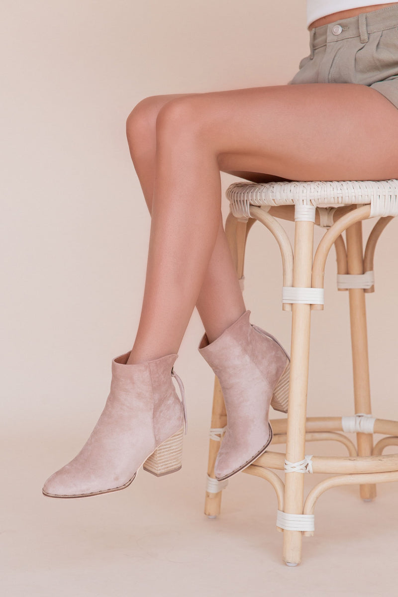 Chase Suede Booties | LLACIE