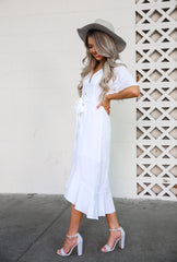 Cellia White Dress