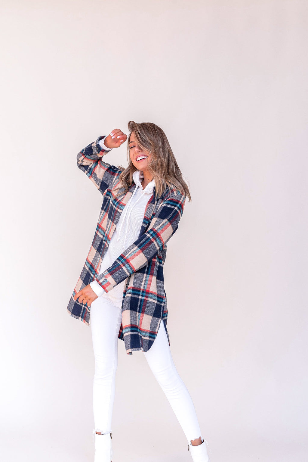Days With You Flannel Shacket | LLACIE