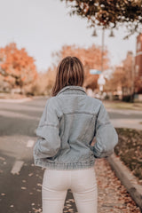 Vintage Light Wash Denim Jacket