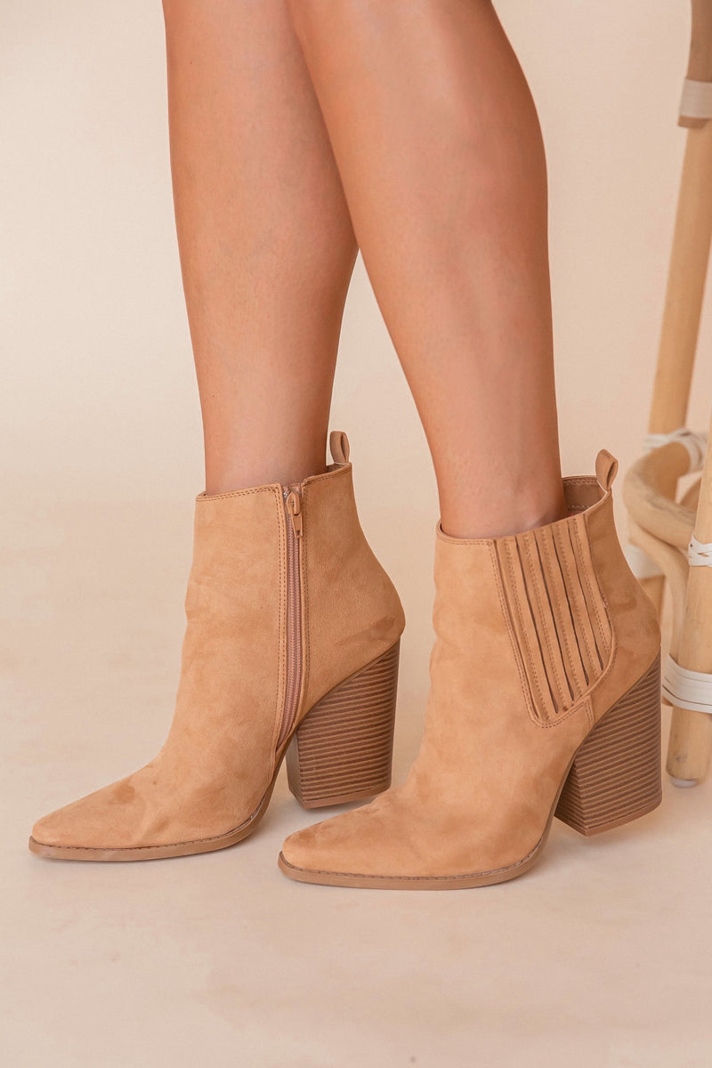 Bailey Butterscotch Booties | LLACIE