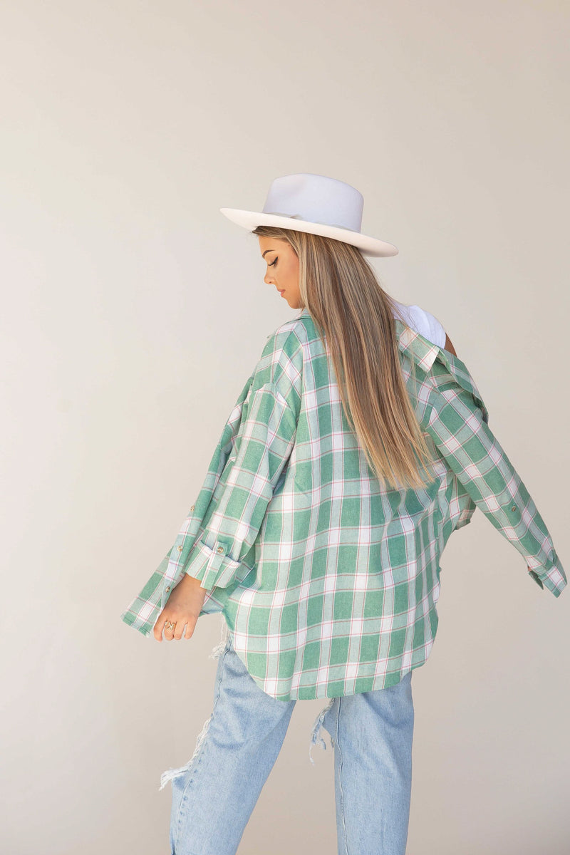 Adore You Plaid Shirt