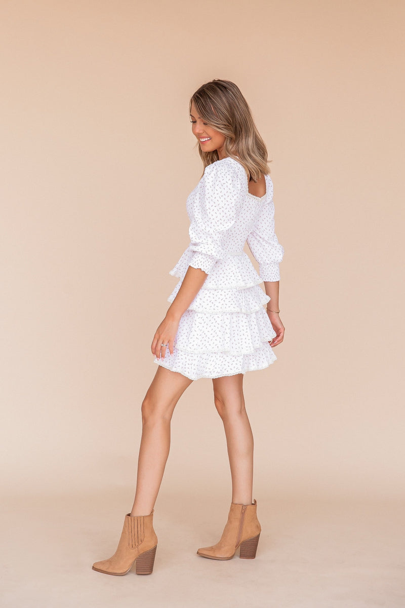 Nadia Tiered Dress | LLACIE
