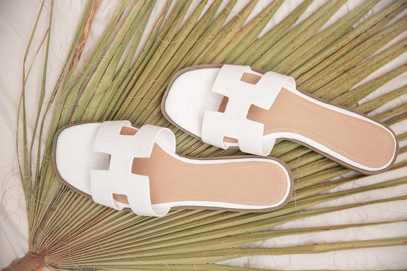 In The Sand H Sandals〡White