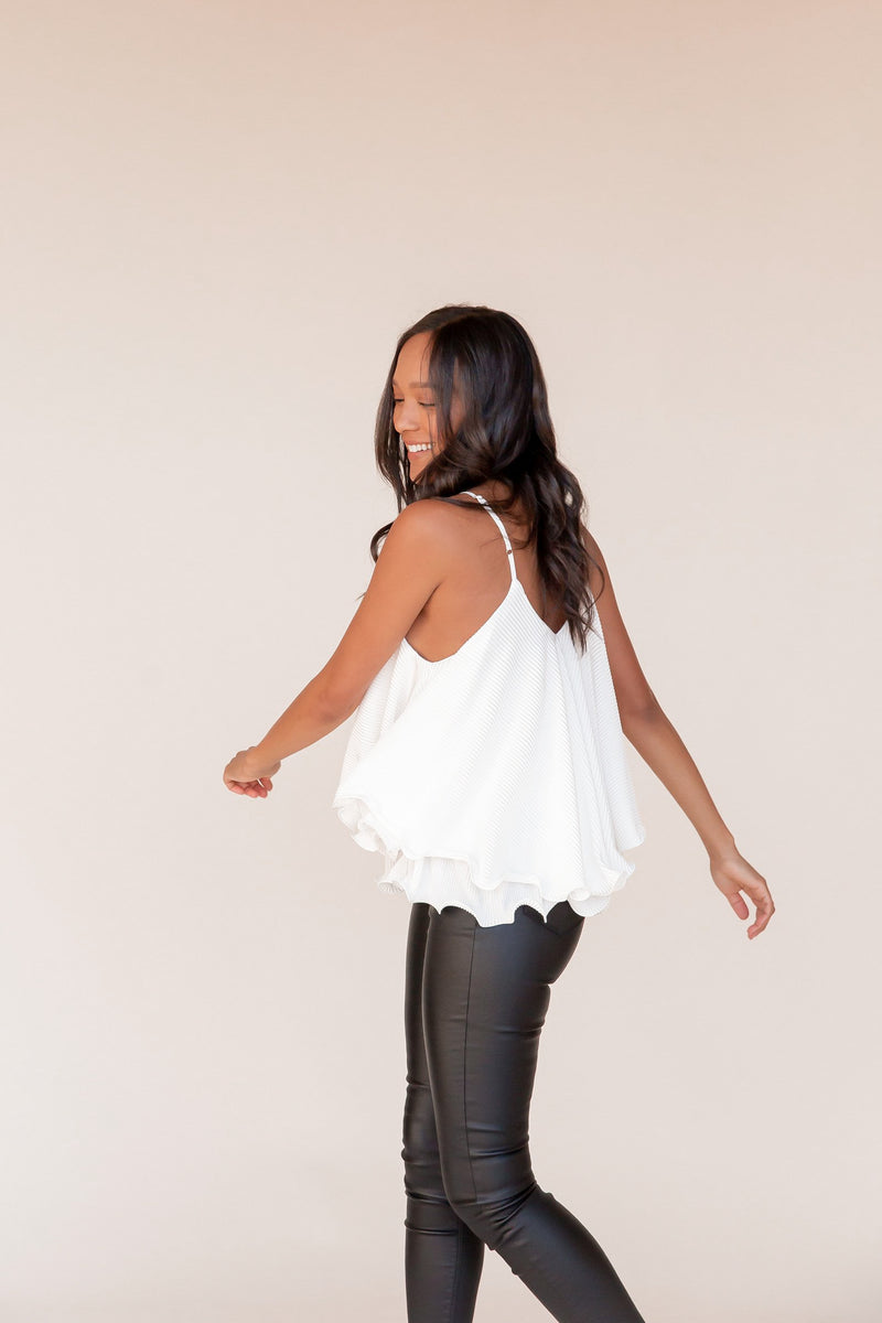 Pretty In Ruffles Layered Top | LLACIE