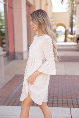 Fairytale Bliss Bell Sleeve Dress - llacie