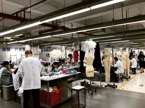Fashion factory in China
