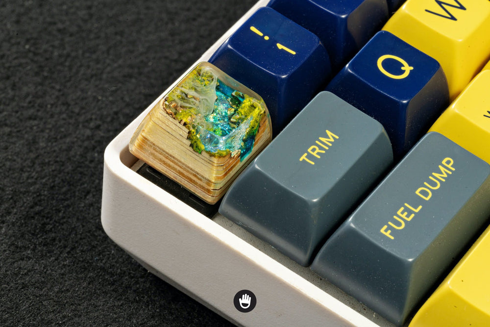 Artifact series - Natural Metaphors artisan keycap