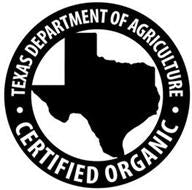 Texas Department of Agriculture Certified Organic
