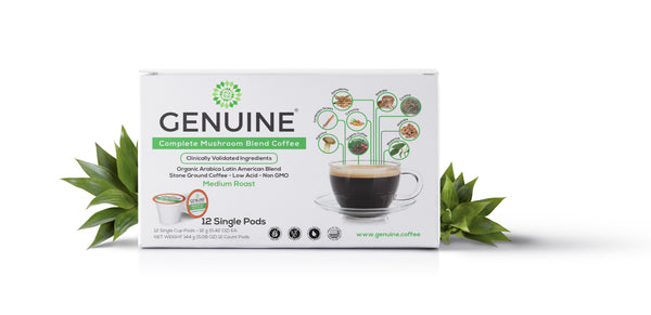 GENUINE Healthy Mushroom Support Coffee
