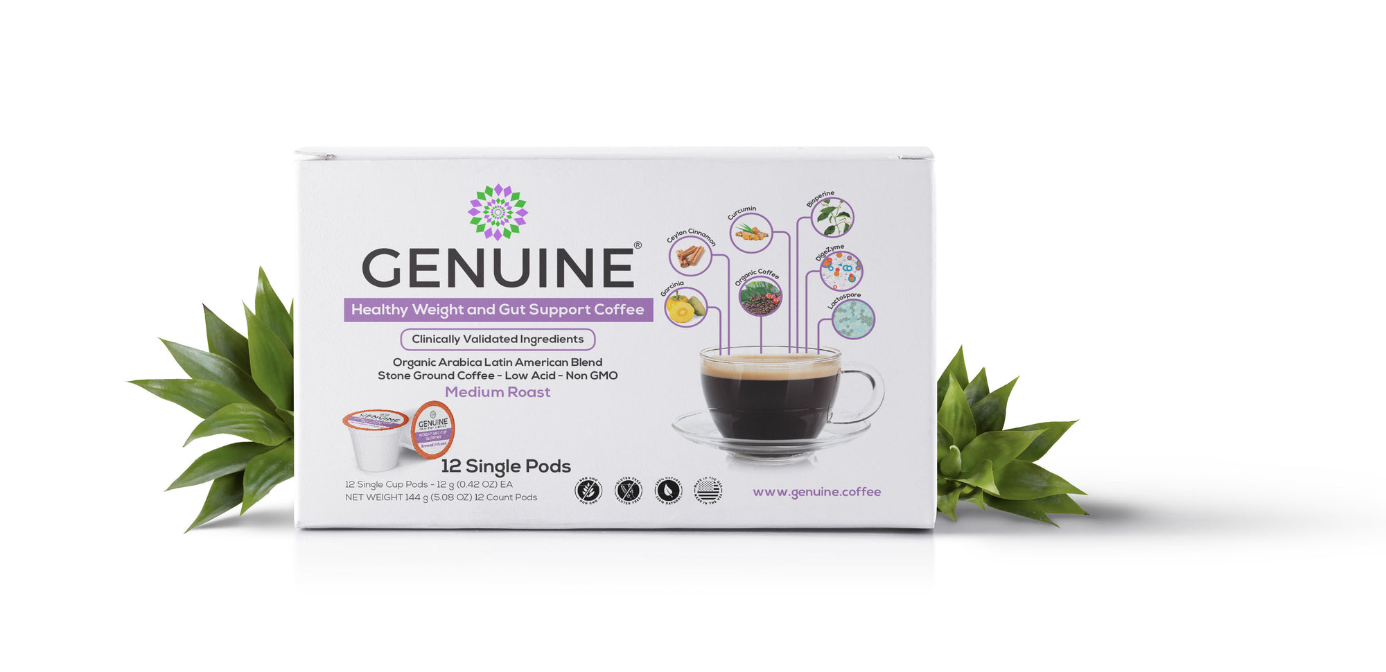 GENUINE Healthy Weight and Gut Support Coffee