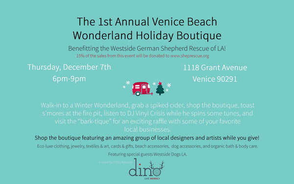 Join us at the Venice Beach Wonderland Holiday Boutique