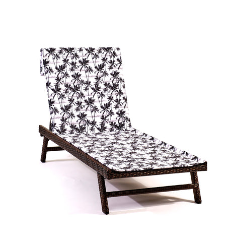 Lei Low Lounge Chair-Length Beach Towel