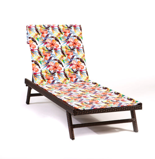 Paradise Found Lounge Chair-Length Beach Towel