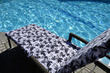 Keep Palm Lounge Chair-Length Beach Towel
