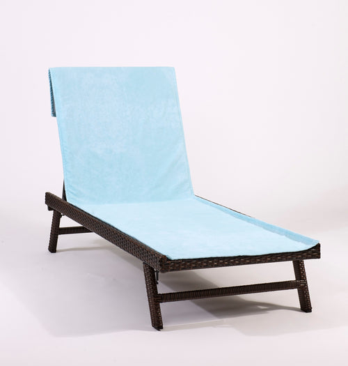 Sea Clearly Lounge Chair-Length Beach Towel