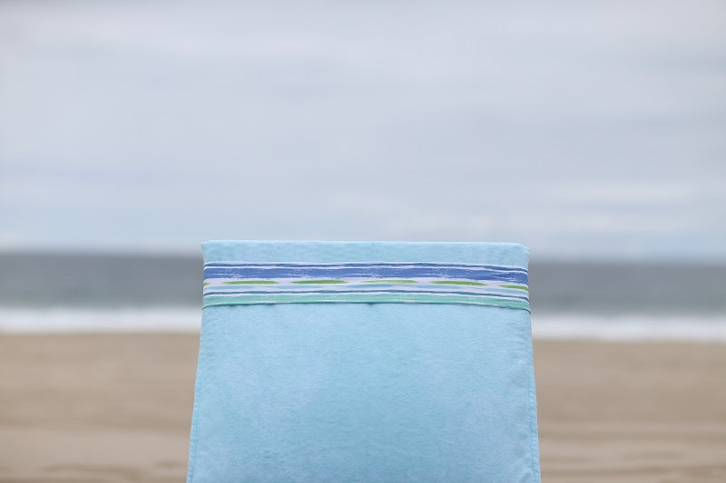 Sea Clearly Lounge Chair Towel Cover - BandaBeau