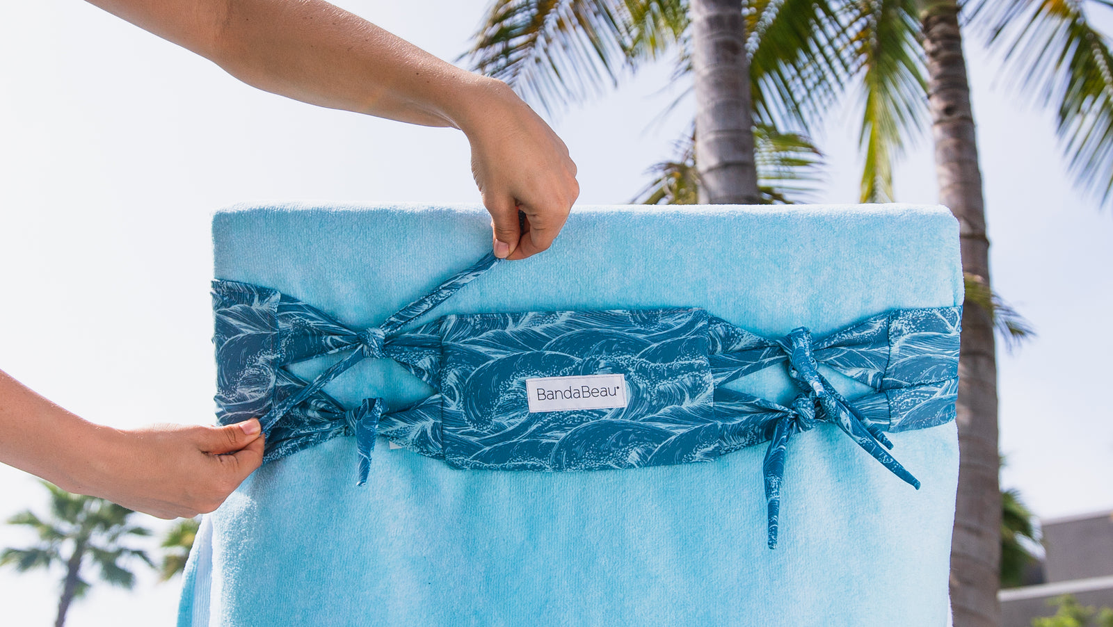 Surf Break Towel Tamer
