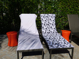 Whale Watching Lounge Chair-Length Beach Towel