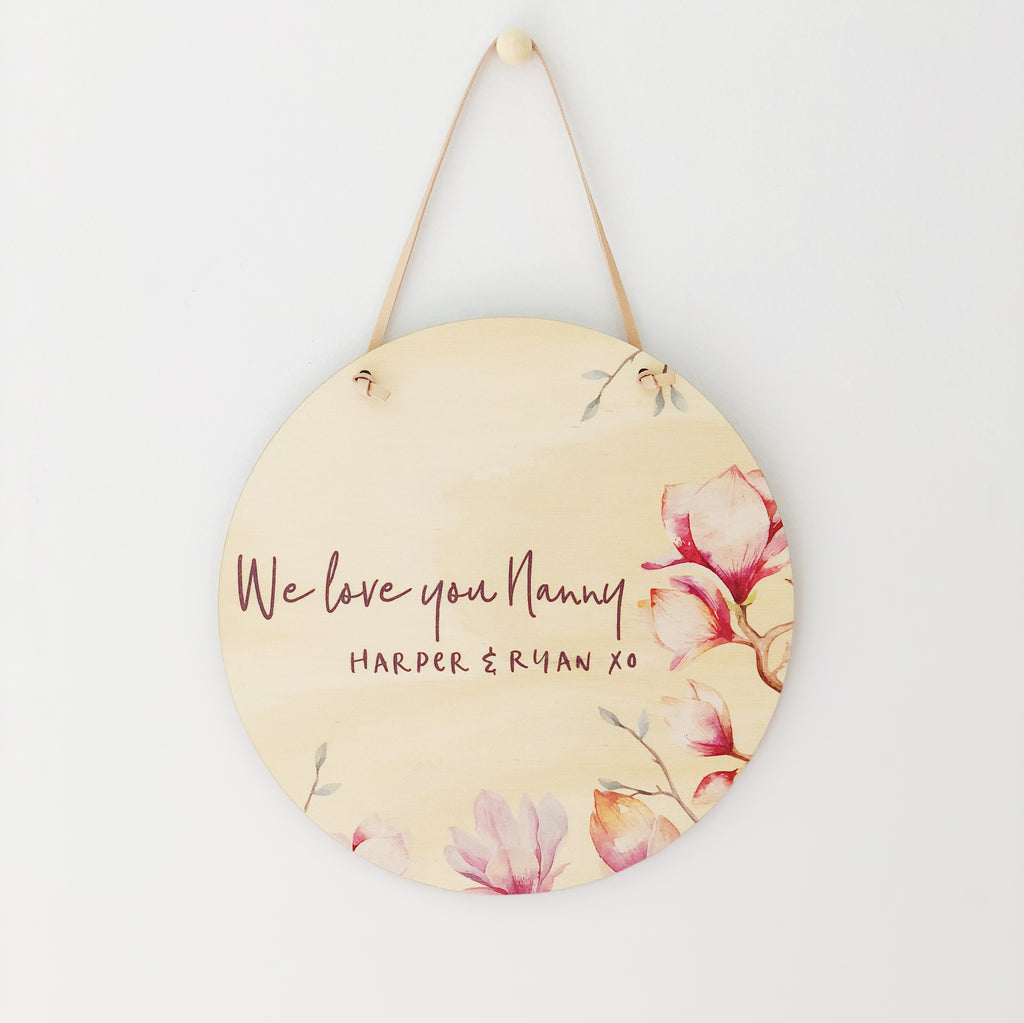 Mother's Day Plaques - Spring Blossom