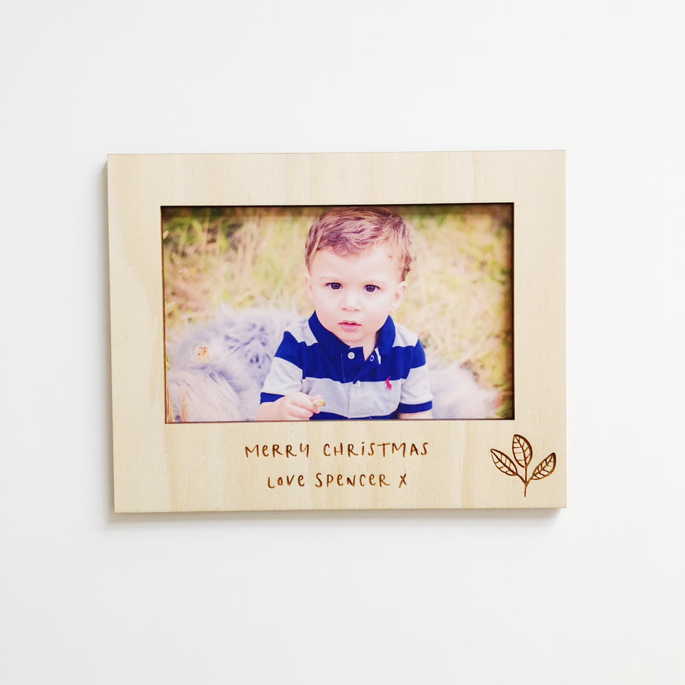 Special Message Magnetic Photo Frames (custom)