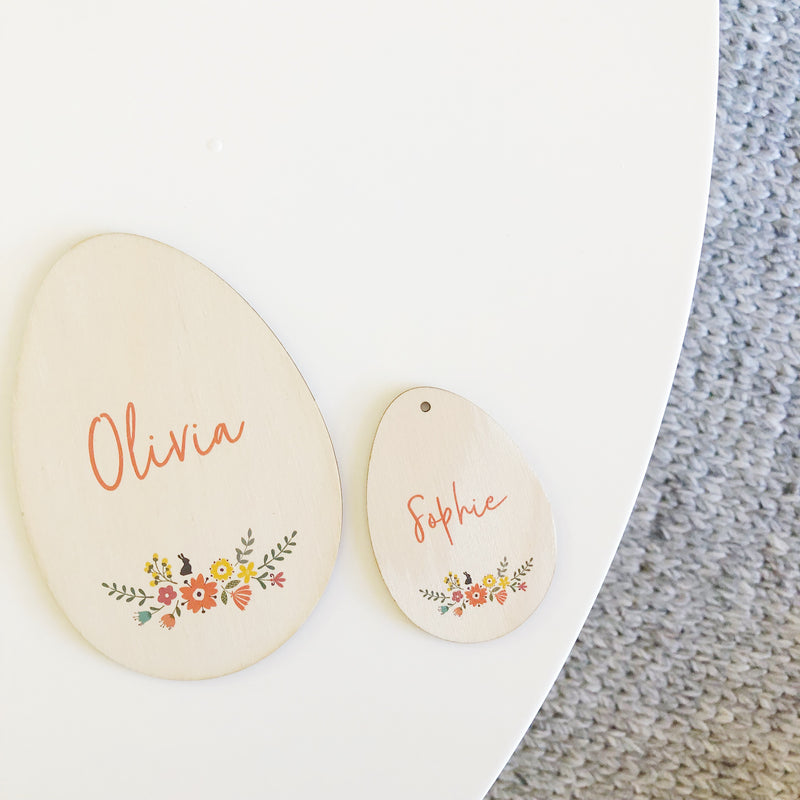 Easter Egg Plaques (custom)