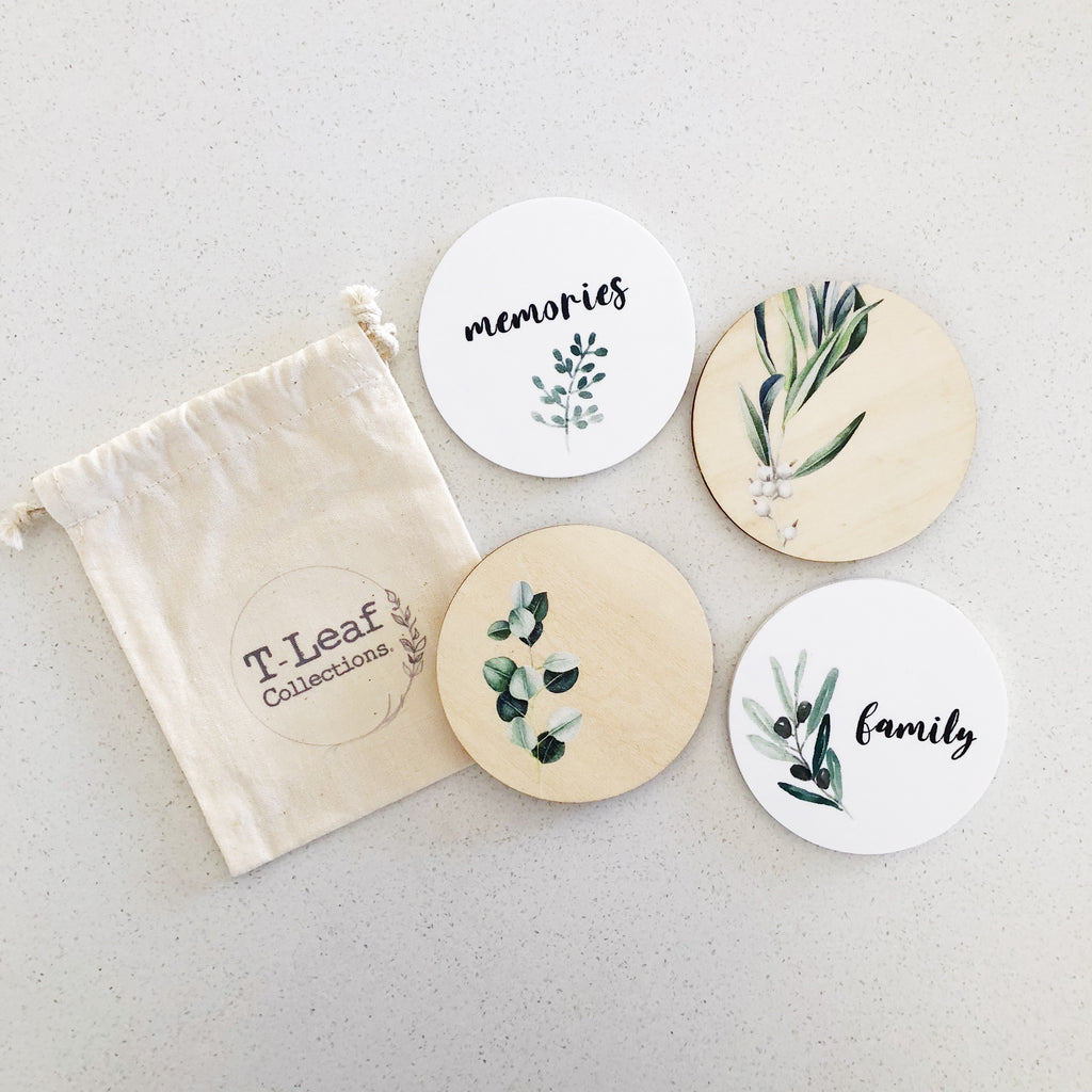 Fridge Magnets - Eucalyptus (ready-made)