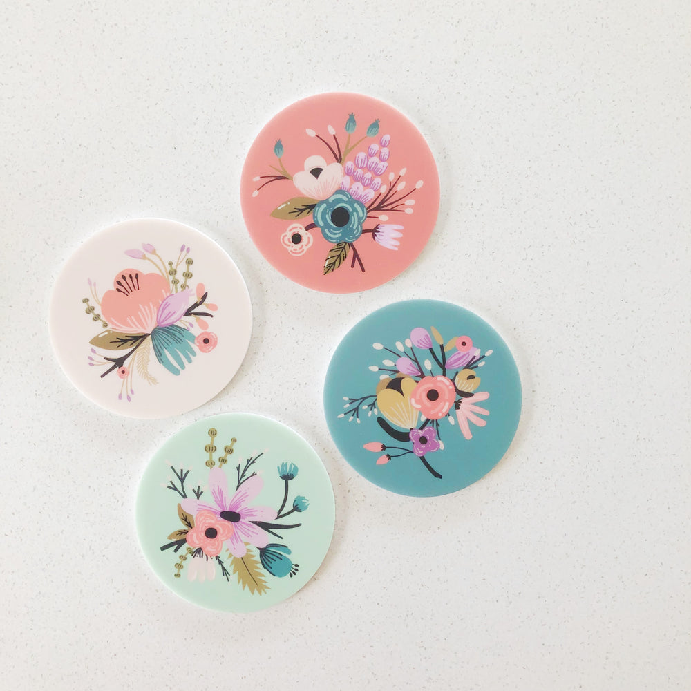 Fridge Magnets - Floral (ready-made)