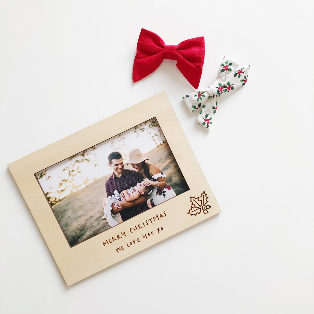 Christmas Magnetic Photo Frames (custom)