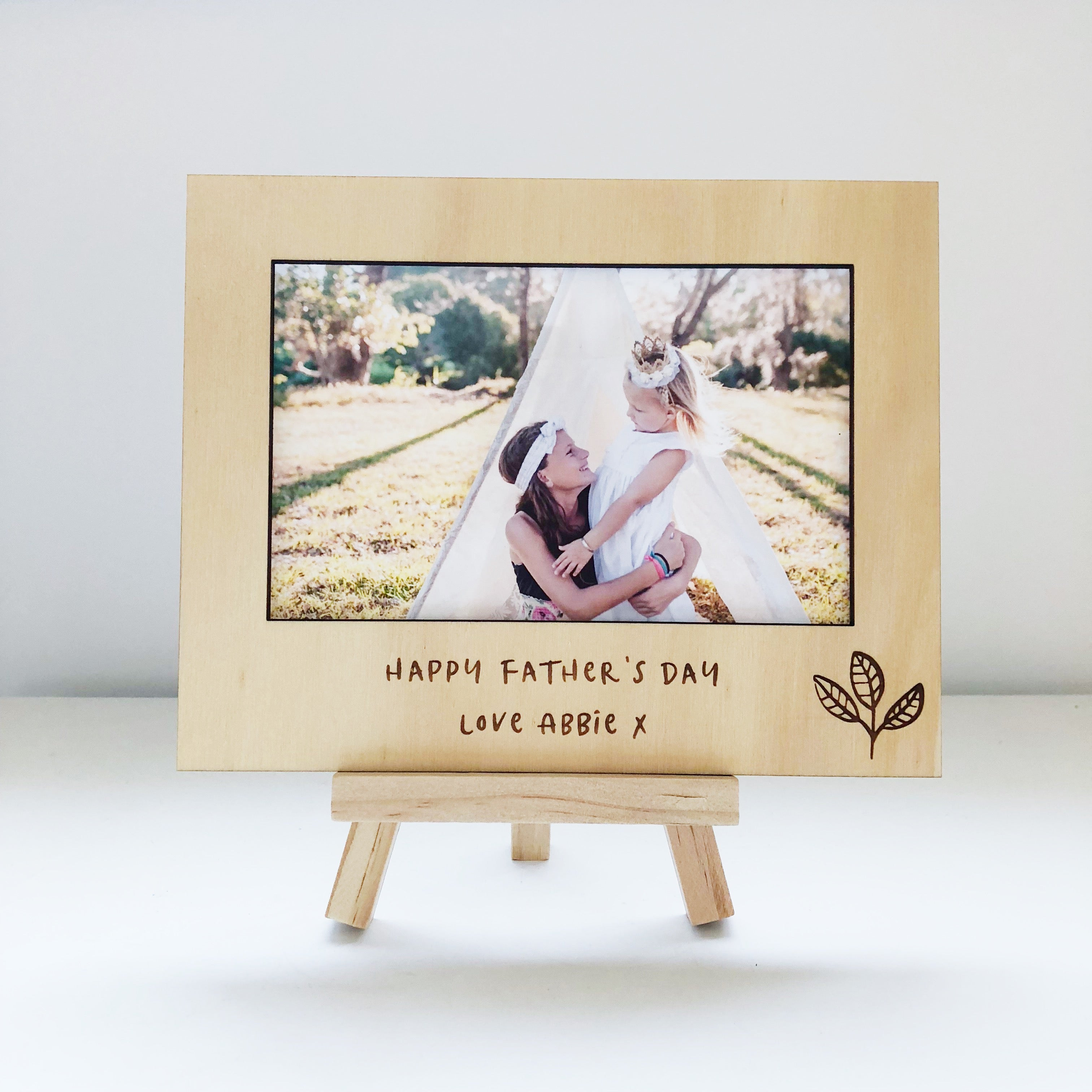 Special Message Photo Frames (custom) – T-Leaf Collections