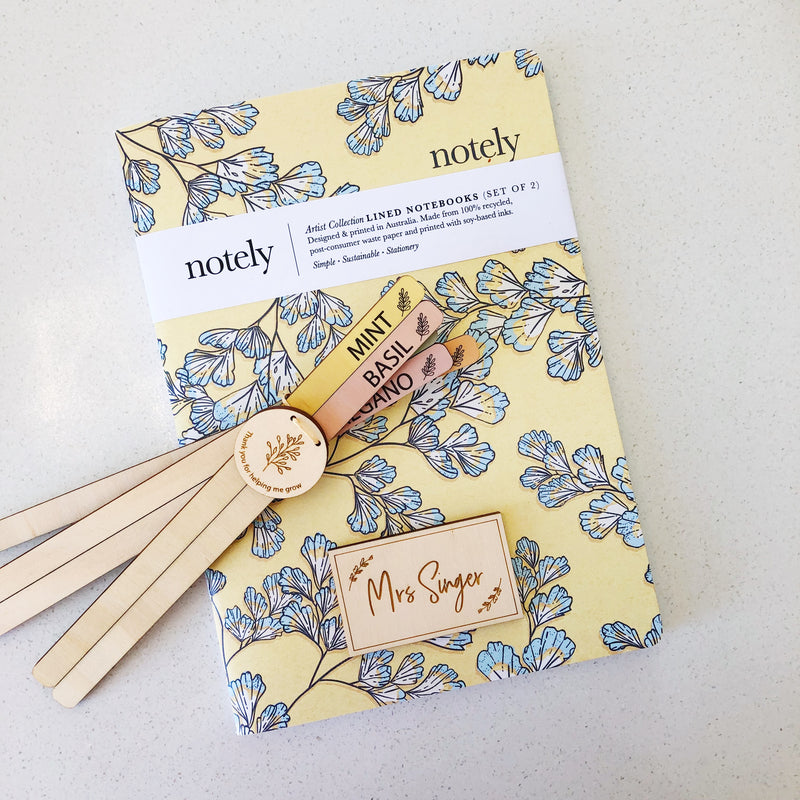 Notely Fern Fancy A5 Notebook (Set of 2)