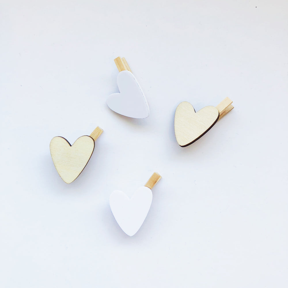 Heart Mini-Pegs