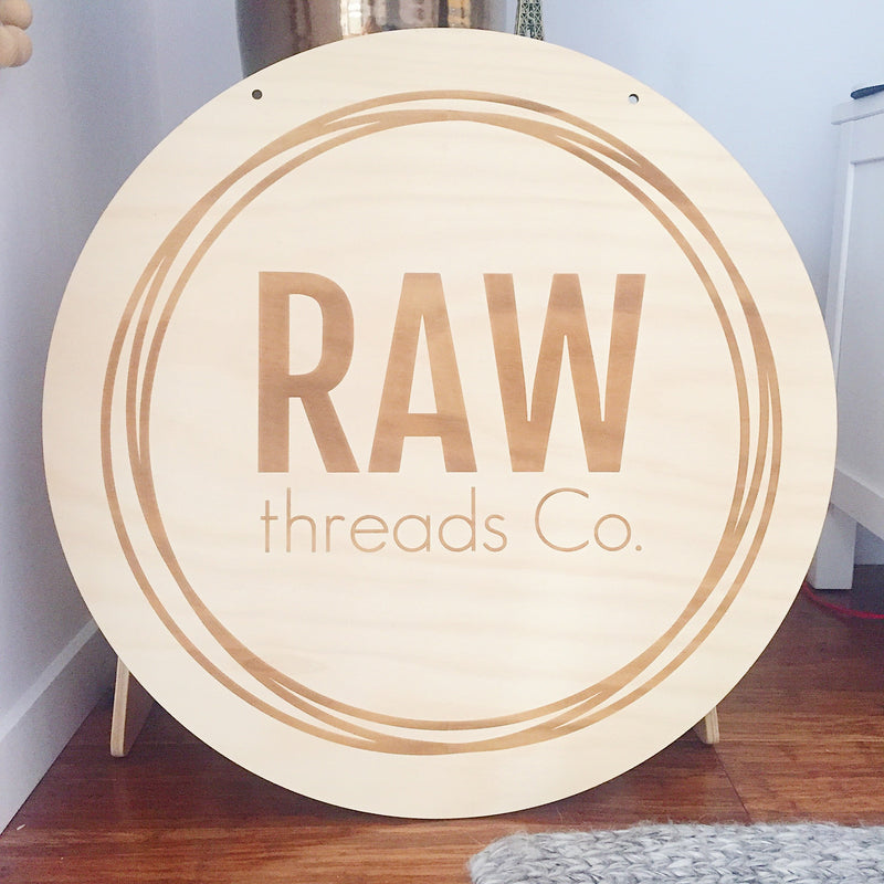 *Request a Quote* Large Etched Business Logo Plaques